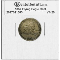 1857 Flying Eagle Cent VF-25 - 2017041503
