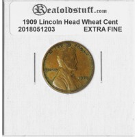1909 Lincoln Cent XF-45 - EXTRA FINE - 2018051203