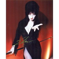 Elvira Mistress of the Dark Gold Sharpie Signature 2007