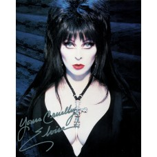 Elvira Mistress of the Dark Silver Sharpie Signature 1998