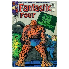 Fantastic Four Vol I Issue 51 June 1966 GD 25/7