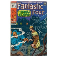 Fantastic Four Vol I Issue 90 September 1969 FN 65/9