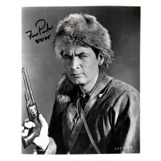 Fess Parker as Davy Crockett or Daniel Boone Black Sharpie signature 1995