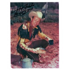 "Roy Rogers ""King of the Cowboys"" Black Sharpie Signature 1978"