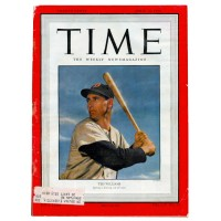 Time Magazine April 10, 1950 - Ted Williams Cover Vol LV No.15 Very Fine Condition